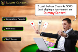 Rummy Winners Reviews about RummyCentral.com